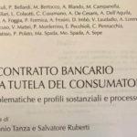 PUBBLICAZIONE NUOVO VOLUME DI DIRITTO BANCARIO E FINANZIARIO
